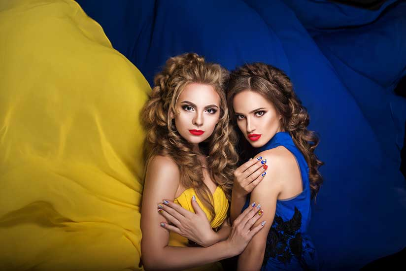 Beautiful girls of Ukraine